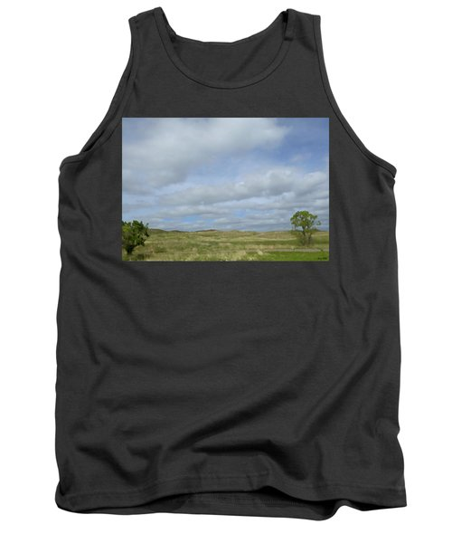 Tank Top featuring the photograph Painted Plains by JoAnn Lense