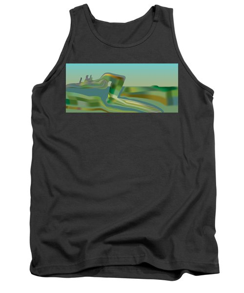 Painted Riverland Tank Top