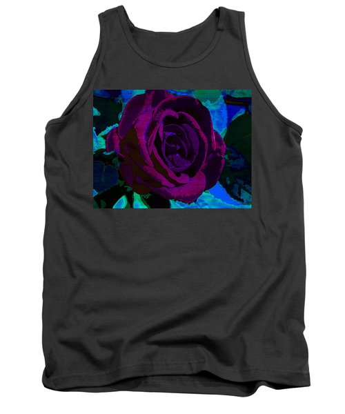 Painted Rose Tank Top