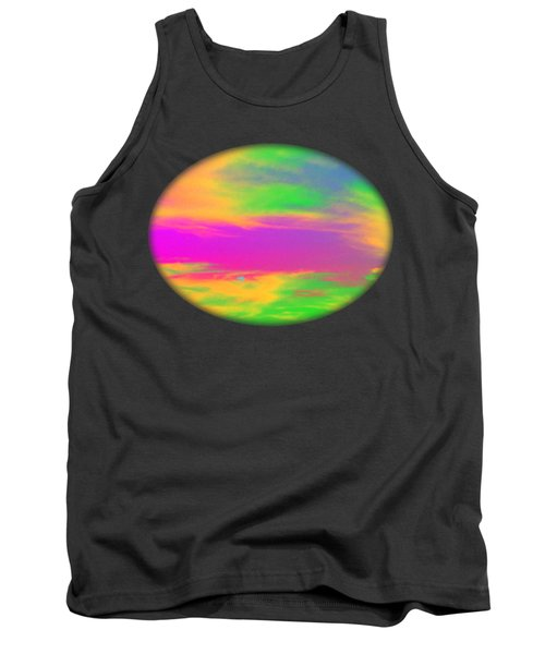 Painted Sky - Abstract Tank Top