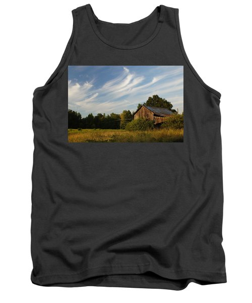 Painted Sky Barn Tank Top by Benanne Stiens