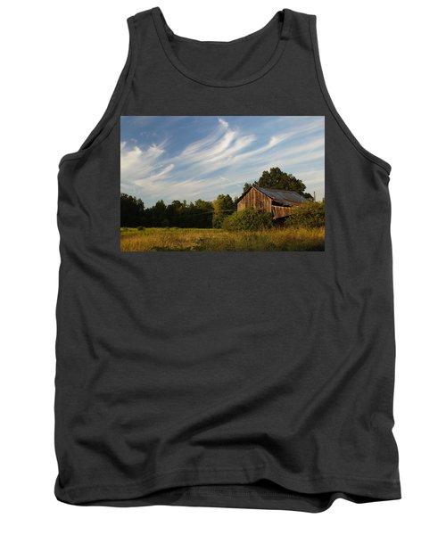 Painted Sky Barn Tank Top
