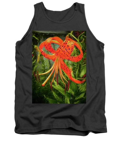 Painted Tiger Tank Top