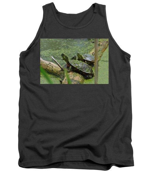Painted Turtles Tank Top