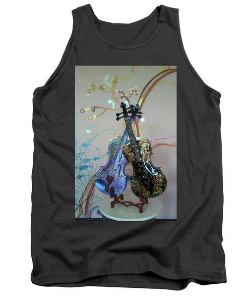 Painted Violins Tank Top