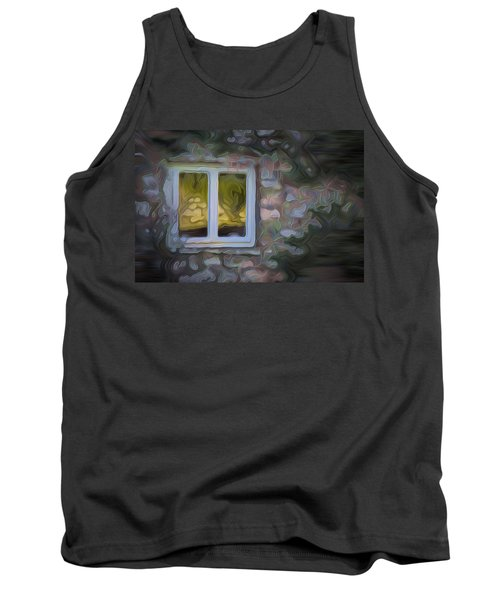 Painted Window Tank Top by Carol Crisafi