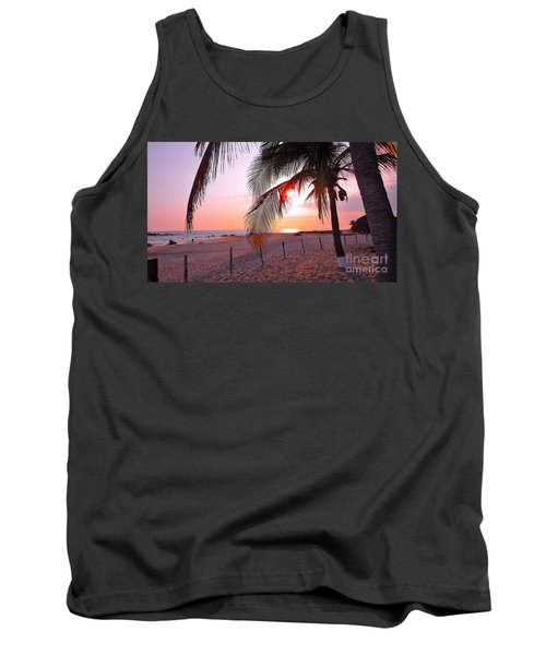 Palm Collection - Sunset Tank Top by Victor K