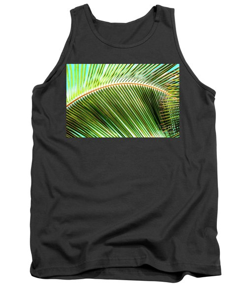 Palm Frond Sway Tank Top