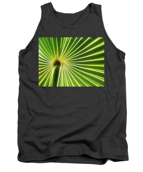 Palm Glow Tank Top
