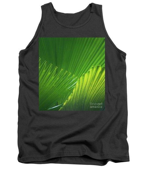 Palm Leaves Tank Top by Atiketta Sangasaeng