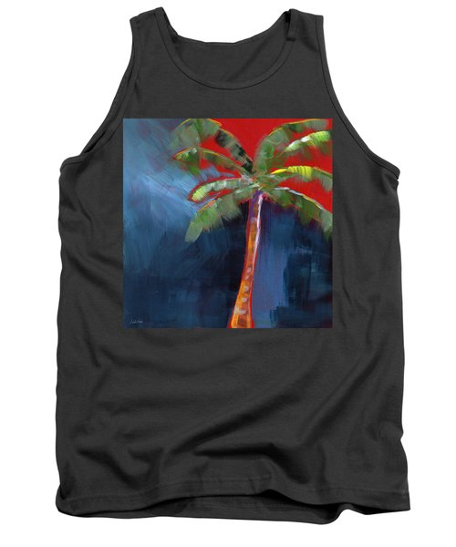 Palm Tree- Art By Linda Woods Tank Top