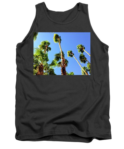 Palm Trees Looking Up Tank Top