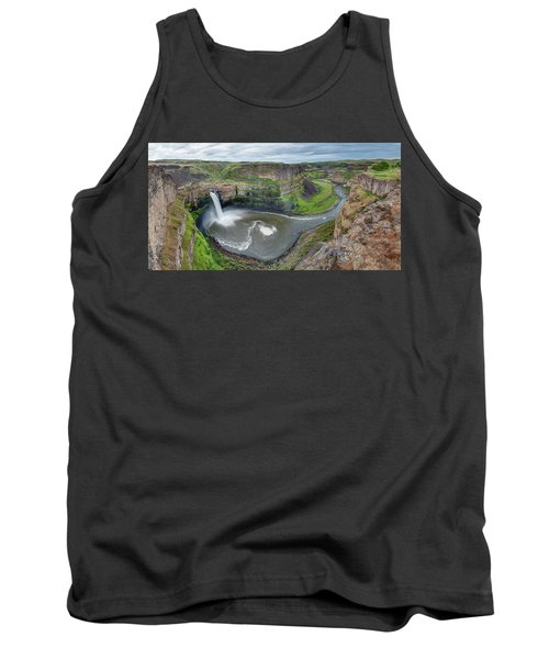 Palouse Falls In The Spring Tank Top