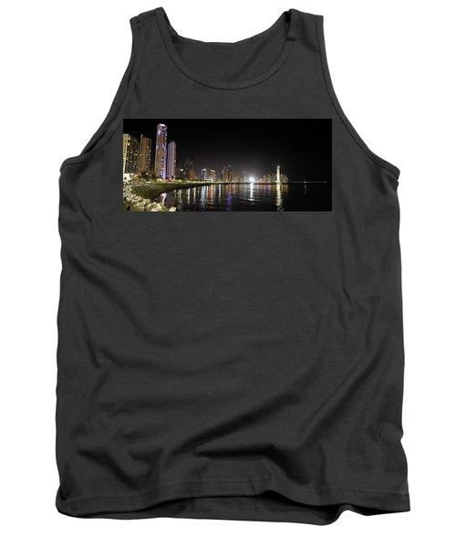 Panama City Night Tank Top