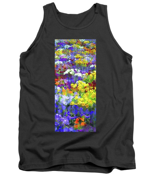 Pansy Party II Tank Top