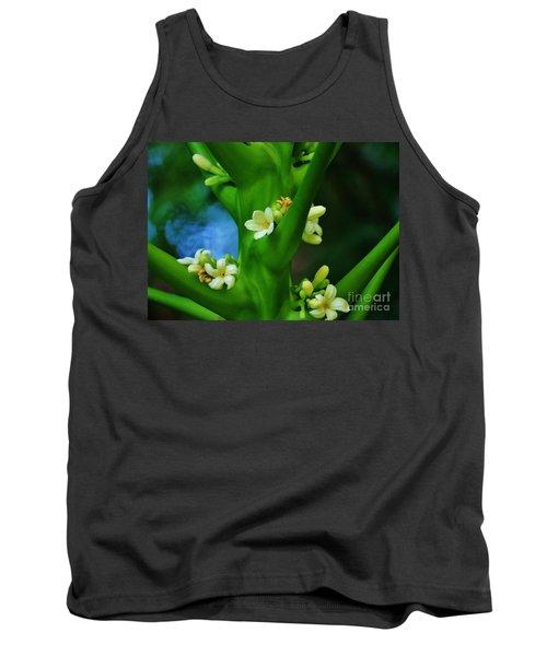 Papaya Blossoms Tank Top