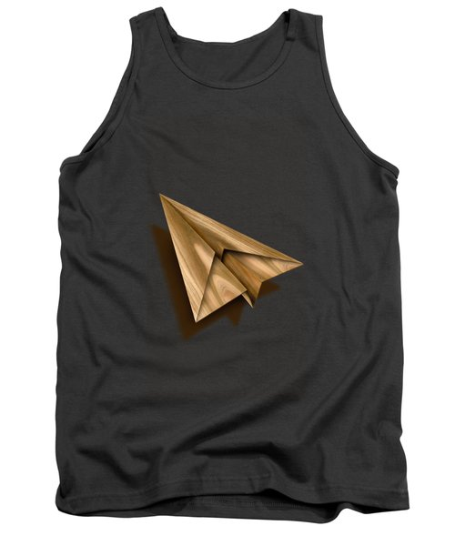 Paper Airplanes Of Wood 1 Tank Top by YoPedro