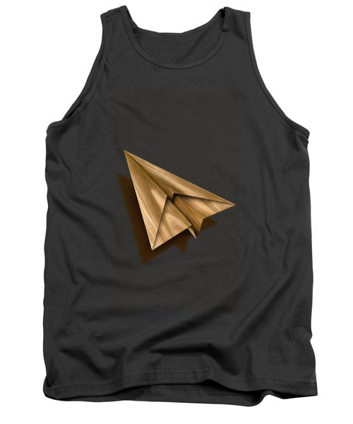 Paper Airplanes Of Wood 1 Tank Top