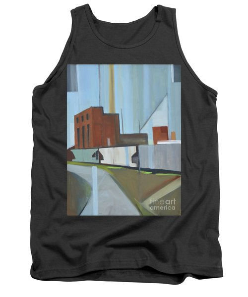 Paperboard Factory Bogota Nj Tank Top by Ron Erickson
