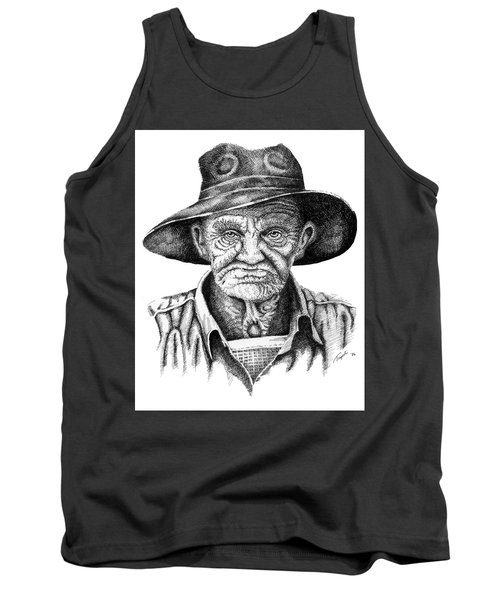 Pappy Tank Top by Lawrence Tripoli