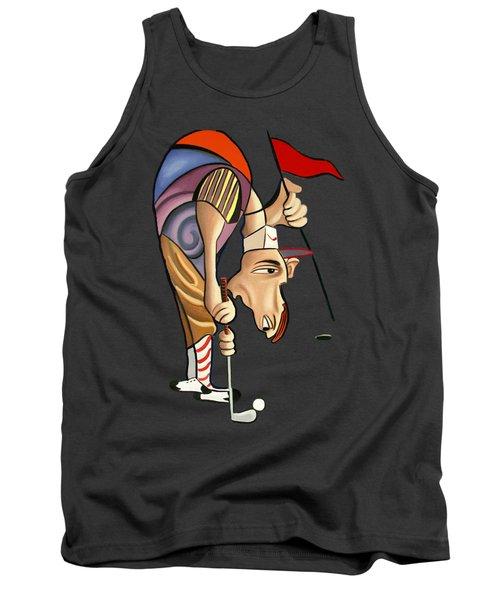 Par For The Course T-shirt Tank Top