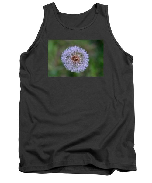 Parachute Club- Dandelion Gone To Seed Tank Top by David Porteus