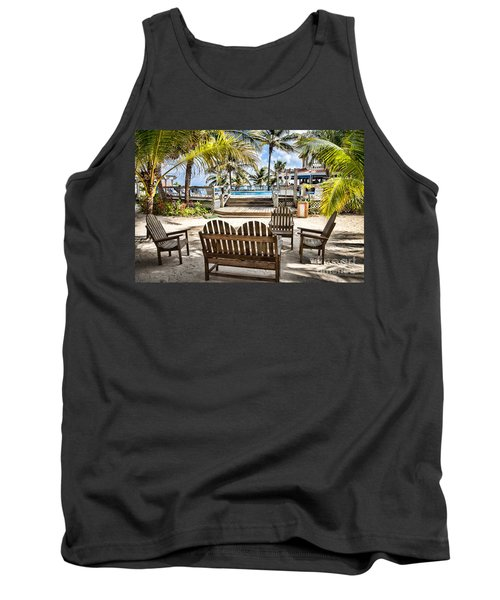 Paradise Tank Top by Lawrence Burry