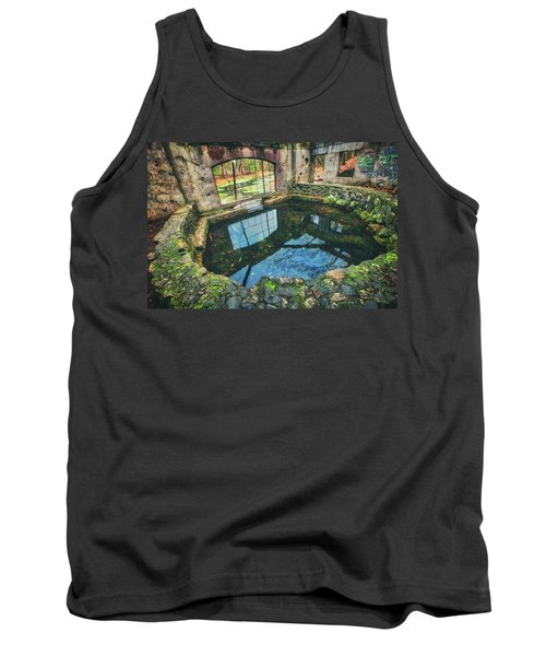 Paradise Springs- Spring House - Kettle Moraine State Forest Tank Top by Jennifer Rondinelli Reilly - Fine Art Photography