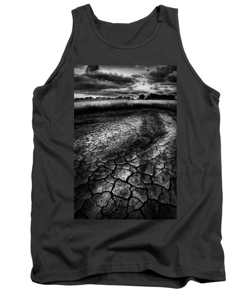 Tank Top featuring the photograph Parched Prairie by Dan Jurak