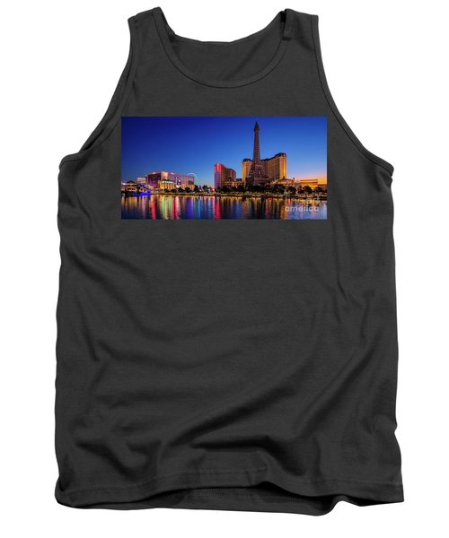 Paris Casino At Dawn 2 To 1 Ratio Tank Top
