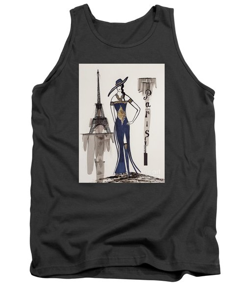 Paris Fashion Tank Top