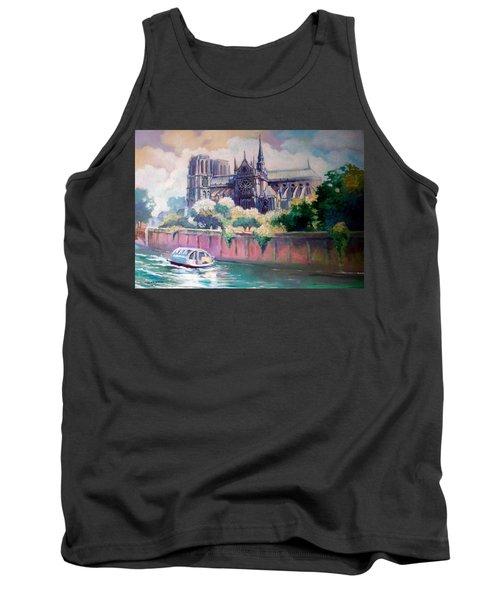 Paris Notre Dame Tank Top