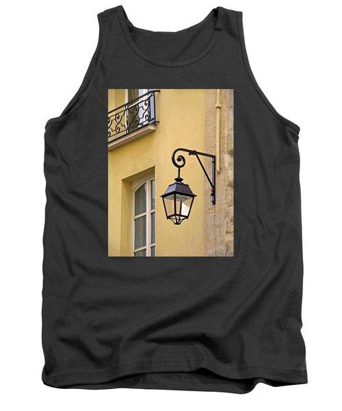 Paris Street Lamp Tank Top