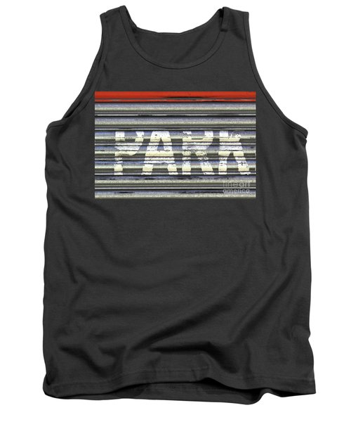 Park Here Tank Top