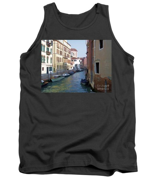 Tank Top featuring the photograph Parked In Venice by Roberta Byram