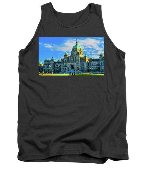 Parliament Victoria Bc Tank Top