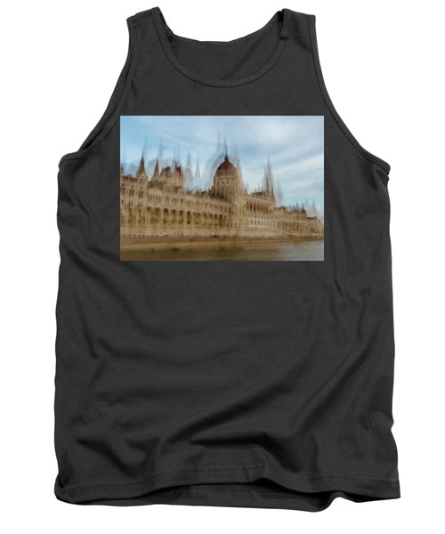 Tank Top featuring the photograph Parliamentary Procedure by Alex Lapidus