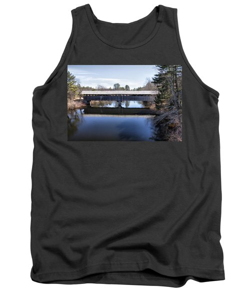 Parsonfield Porter Covered Bridge Tank Top by Betty Pauwels