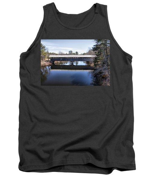 Parsonfield Porter Covered Bridge Tank Top