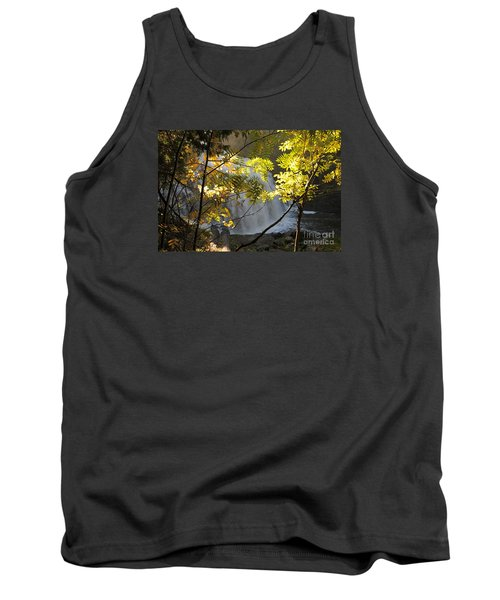 Tank Top featuring the photograph Partridge Falls II by Sandra Updyke