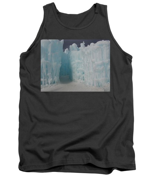 Passageway In The Ice Castle Tank Top by Catherine Gagne