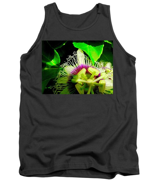 Passion Flower 2 Reflecting Tank Top