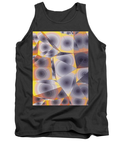 Passionflowers Tank Top by Moustafa Al Hatter