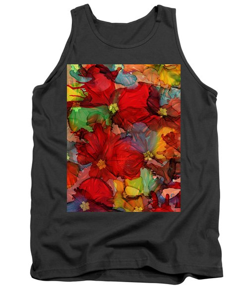 Passion Of Flowers Tank Top