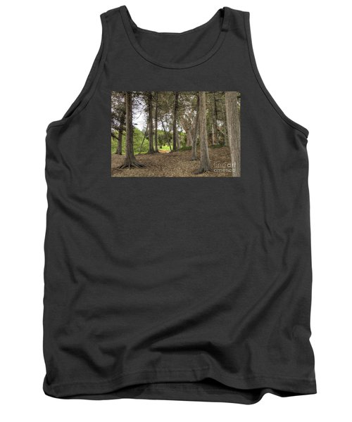 Past The Beach And Through The Trees Tank Top