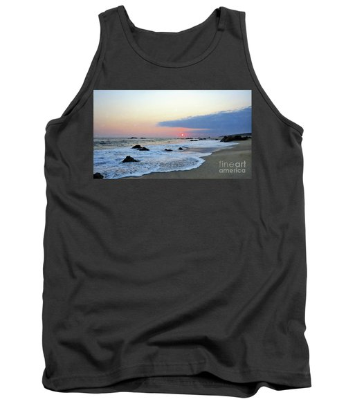 Tank Top featuring the photograph Pastel Blue by Victor K