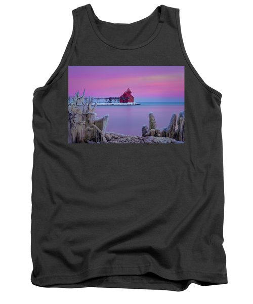 Pastel Lighthouse Tank Top
