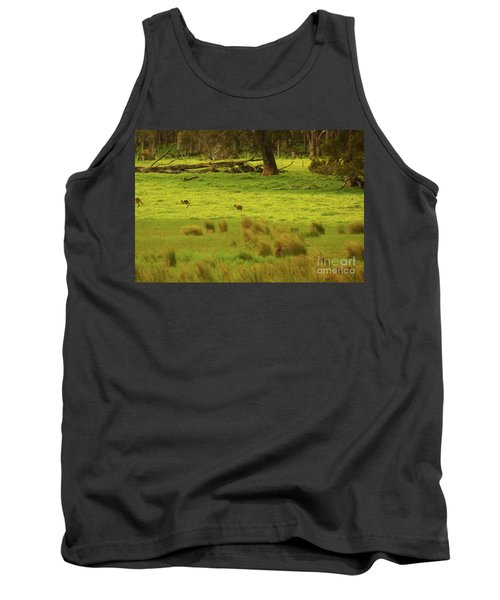 Pasture In Boranup Tank Top by Cassandra Buckley