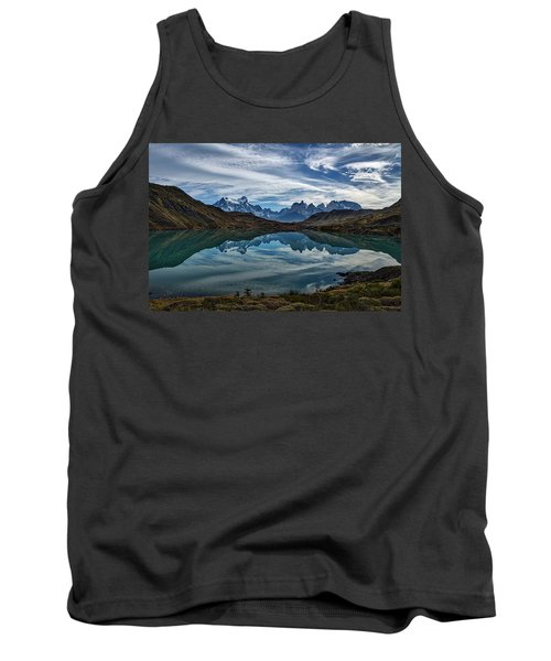 Patagonia Lake Reflection - Chile Tank Top