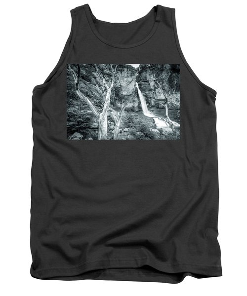 Tank Top featuring the photograph Patagonian Waterfall by Andrew Matwijec